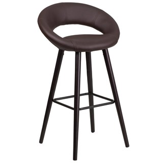 Flash Furniture Kelsey Brown 29 Inch High Barstool