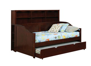 Bookcase Daybed With Trundle,