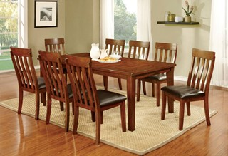 Furniture Of America Foxville 18 Inch Leaf Dining Table