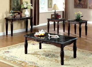 table set living room. Brampton Espresso Faux Marble Solid Wood 3pc Coffee Table Set Sets  Lack The Classy Home