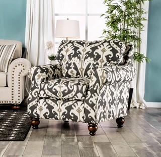 Surprising Furniture Of America Calloway Ivory Loveseat The Classy Home Gmtry Best Dining Table And Chair Ideas Images Gmtryco