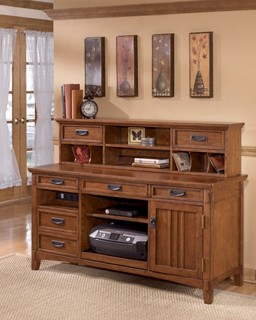 cross island traditional med brown oak wood large credenza