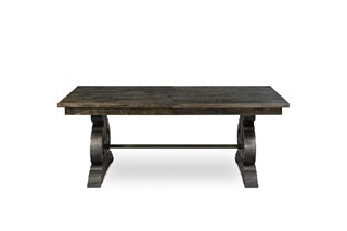 Bellamy Traditional Deep Pine Wood Rectangular Dining Table Top