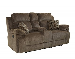 New Classic Furniture Ryder Dual Recliner Console Loveseat