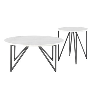 31530a38c2 Picket House Furnishings Kinsl. $457.34 $508.16. QTY : - +. Kinsler Black  Round 3pc Coffee Table Set