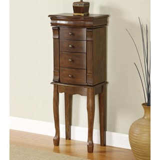 Powell Furniture Louis Philippe Jewelry Armoire