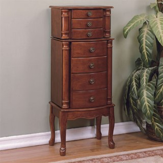 Powell Furniture 5 Drawers Jewelry Armoire