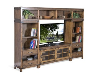 Sunny Designs Safari Nature Walk Entertainment Centers