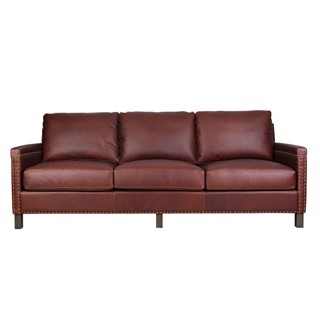 Spectra Home Leisa Chelsea Brown Sofa