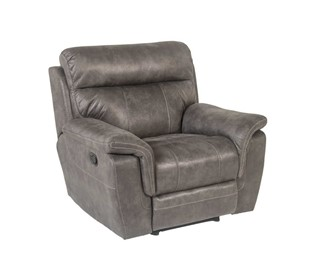 Rocco Recliner Chair, Gray