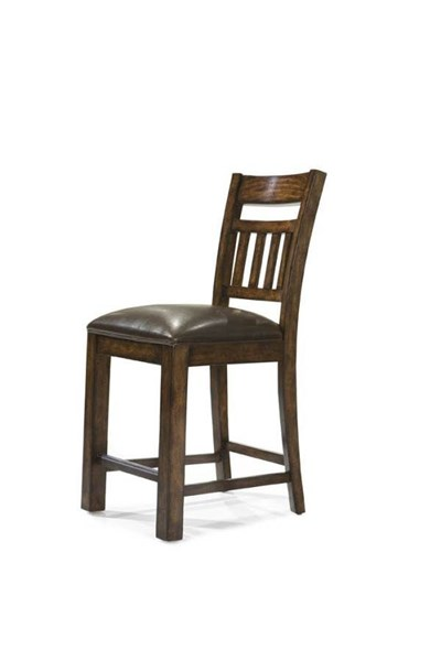 West Side 2 Slat Back Pub Chairs 0560-945 KD By Legacy Classic 0560-945 KD