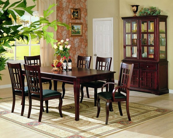 Newhouse Transitional Warm Brown Dining Room Set CST-G100500