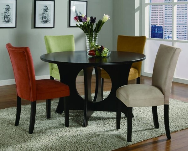 Transitional Cappuccino Wood Dinette Set CST-G101661