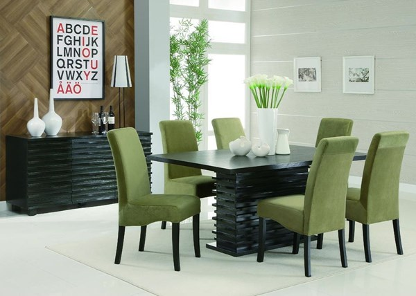 Stanton Contemporary Gray Green Dining Room Sets CST-102061SETS