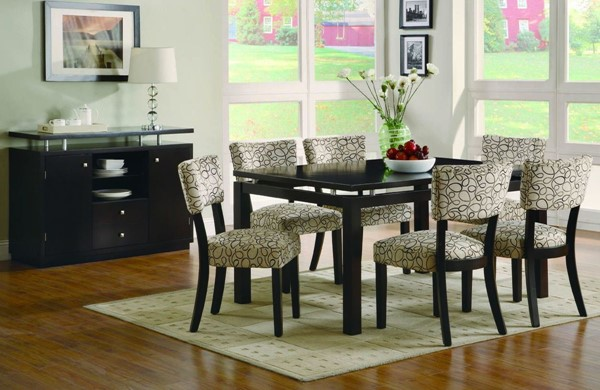 Libby Transitional Cappuccino Dinette Set CST-G103161