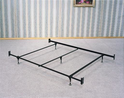 Queen Size Bed Frame For Headboard & Footboard - 5 Legs With Glides CST-1208