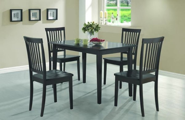 Casual Cappuccino Wood 5pc Pack Dining Set CST-150152