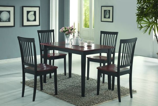 Coaster Furniture Tobacco 5pc Dining Set CST-150153