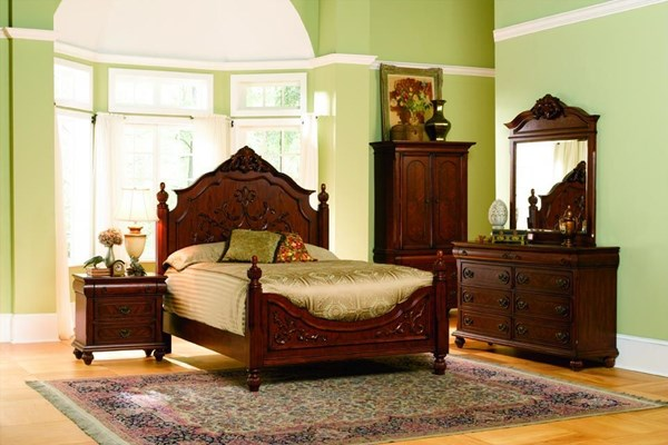 Isabella Traditional Oak Master Bedroom Set The Classy Home