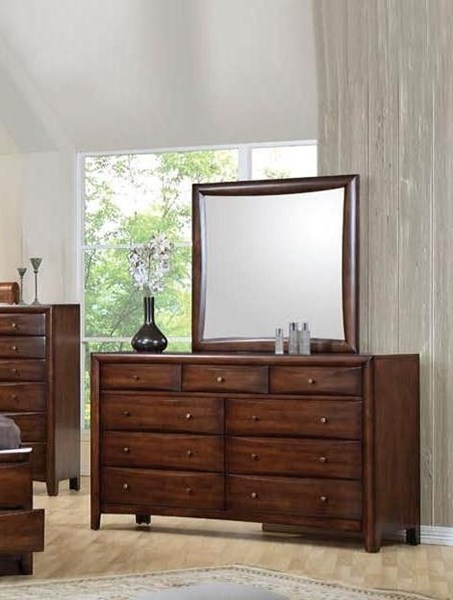 Hillary Transitional Warm Brown Wood Dresser CST-200643