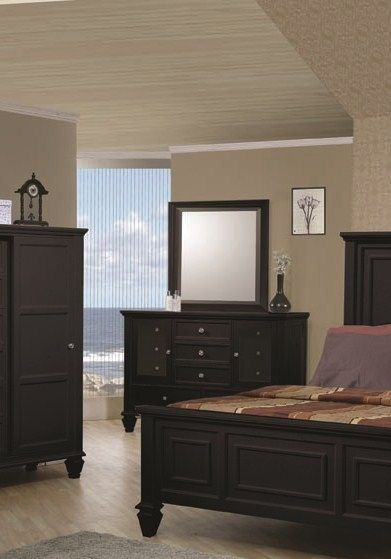 Sandy Beach Country Dressers & Mirrors CST-20130-DRMR-VAR