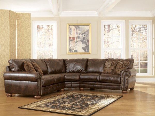 DuraBlend Traditional Fabric Left Arm Facing Loveseat 2130055