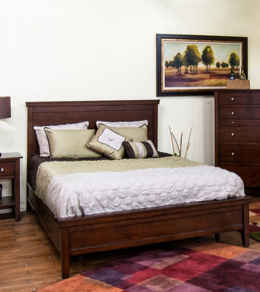 Napa Mahogany Wood Cal King Bed Headboard 2354MG-CKH