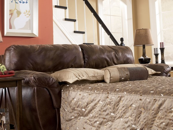 Frontier Casual Canyon Faux Leather Full Sofa Sleeper 3090036