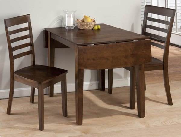 Taylor Contemporary Cherry Wood Double Drop Leaf Table JFN-342-48