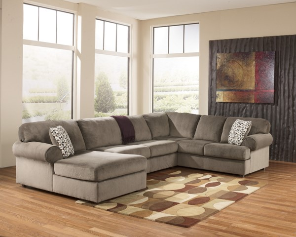 Jessa Place - Sectional (Right side facing Chaise) 398-Rface