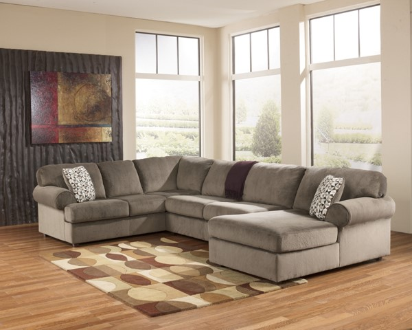 Jessa Place - Sectional (Left side facing Chaise) 398-lface