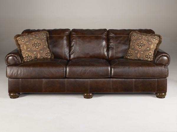 Ashley Furniture Axiom Walnut Sofa 4200038