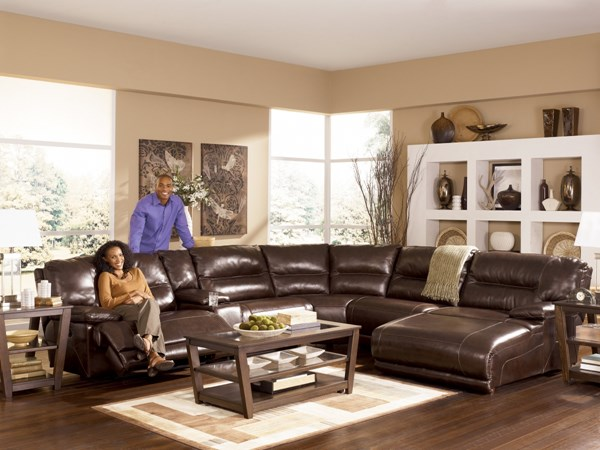 Exhilaration - Chocolate 0 Wall LAF Recliner w/ Power 4240158
