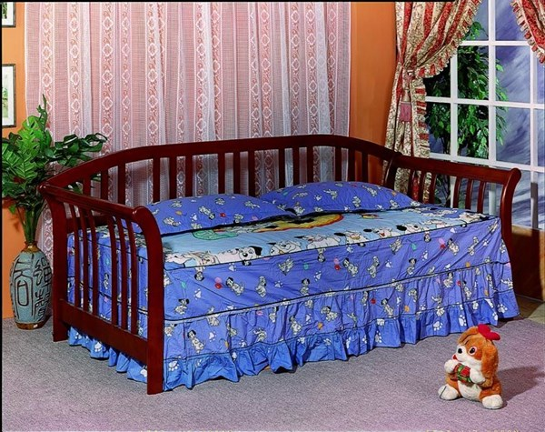 Traditional Merlot Wood Link Spring Daybed CST-4809-C