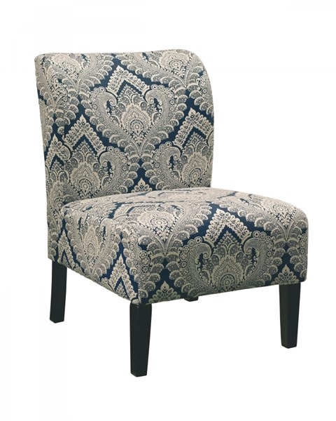 Honnally Contemporary Sapphire Accent Chair 5330360