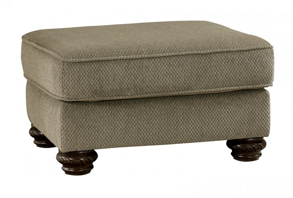 Martinsburg Traditional Meadow Fabric Ottoman 5730014