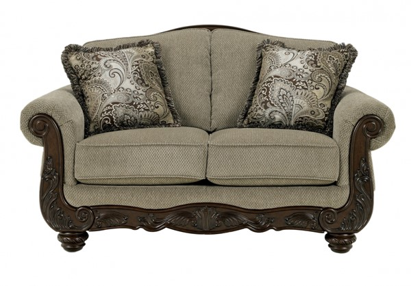 Martinsburg Traditional Meadow Fabric Loveseat 5730035