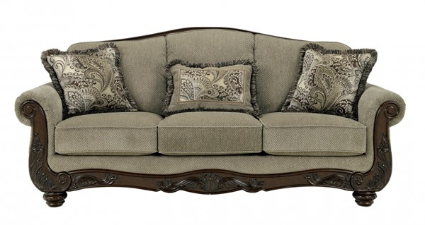 Martinsburg Traditional Meadow Fabric Sofa 5730038