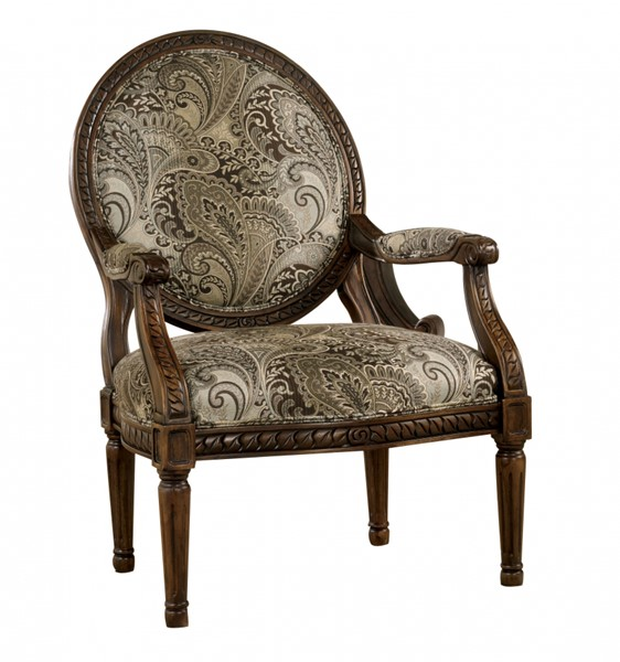 Martinsburg Traditional Meadow Fabric Accent Chair 5730060
