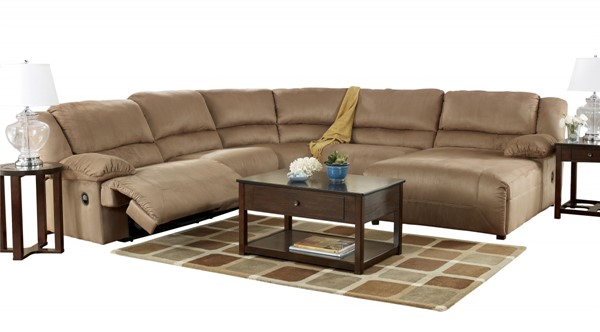 Hogan - Mocha RAF Pressback Sectional Chaise 5780207