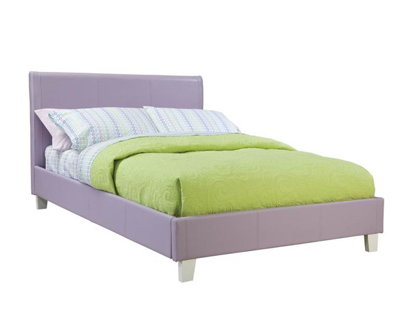 Fantasia Lavender PVC Wood Full Upholster Headboard STD-60772