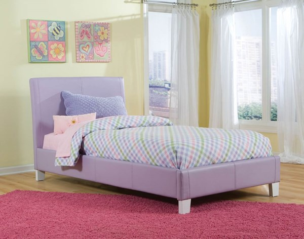 Standard Furniture Fantasia Lavender Twin Upholster Bed Std-60771-Std-60781