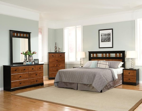 Standard Furniture Steelwood 2pc Bedroom Set with Full Queen Headboard