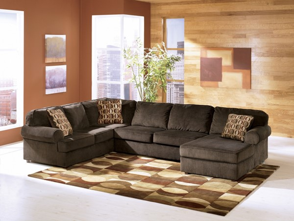 Vista - Chocolate Right Side Chaise Sectional 68404-S1