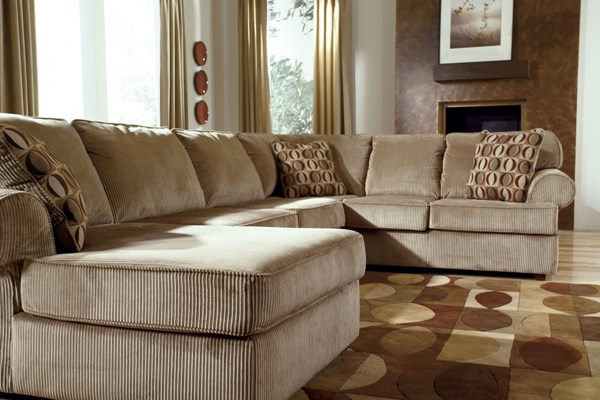 Vista - Cappuccino Sectional (left side chaise) 68405-S
