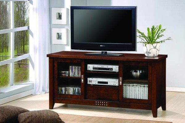 Coaster Furniture Brown TV Stand Armoire CST-700619