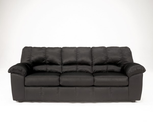 Dominator Contemporary Cafe Black Mocha Fabric Sofa 715-sofa