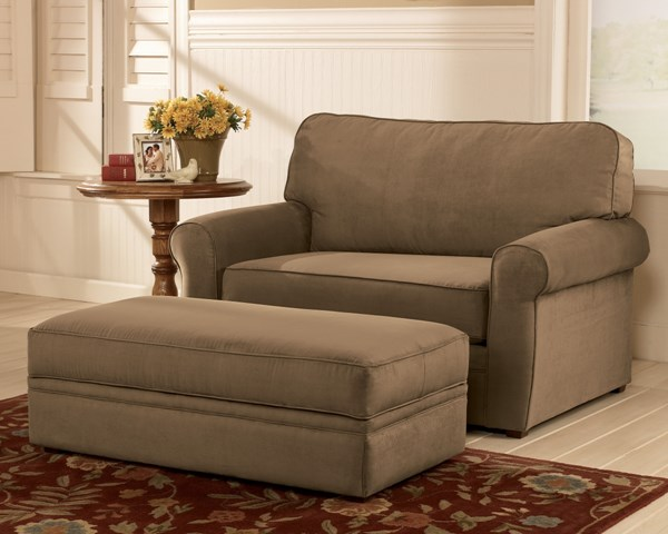 Contemporary - Mocha Ottoman w/ Storage 7260312