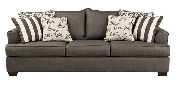 Ashley Furniture Levon Charcoal Sofa 7340338
