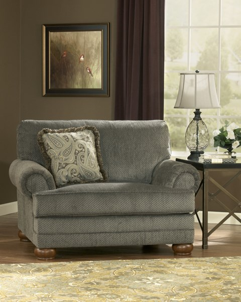 Parcal Estates Traditional Basil Fabric Chair And A Half 7400523